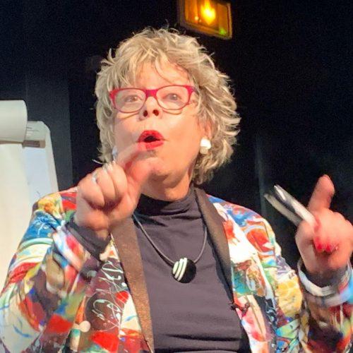 Carol speaking